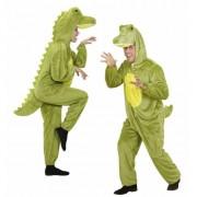 Merkloos Luxe krokodillen kostuums XL - Carnavalskostuums