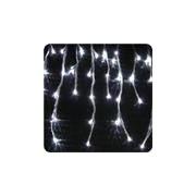 LED-ijspegels lichtsnoer - Sneeuweffect 8 m koelwit