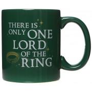 Der Herr der Ringe One Lord Tasse-dunkelgrün - Offizieller & Lizenzierter Fanartikel Onesize Unisex