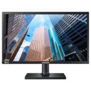 Монитор Samsung S24E45UFS, 24 инча (1920x1080) LED, TN, 5ms, DVI, D-Sub, HDMI, USB HUB, 250cd/m2, Black, LS24E45UFS/EN