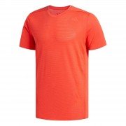 adidas Men's Supernova Running T-Shirt - Red - S - Red