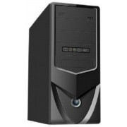 Gembird CCC-P4-UPS1 Midi-Toren Zwart computerbehuizing
