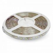 V-TAC Striscia LED SMD 3528 Impermeabile Monocolore 120 LED/metro in bobina da 5 metri