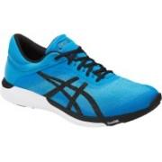 Asics FUZEX RUSH - AQUA SPLASH/BLACK/DIVA BLUE Running Shoes For Men(Blue)