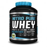 BioTech USA Nitro Pure Whey banán por - 2270g