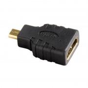 Adaptor Hama HDMI Female - microHDMI Male negru