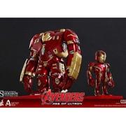 Hot Toys Marvel Avengers Age Of Ultron Iron Man Mark Xliii (Battle Damaged Version) And Hulkbuster Artist Mix