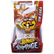 WWE Wrestling Rumblers Rampage Mini Figure Sin Cara [Super Jump] [White & Gold Mask]