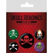 Skull and Bones kitűzők - BP80468