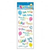 Geen Poezie album stickers happy birthdays