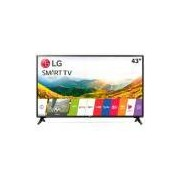 Smart TV LG 43´ LED Full HD 2 HDMI 1 USB Preto com Conversor Digital Integrado - 43LJ5500