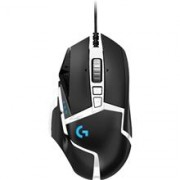 Logitech G502 Special Edition Hero USB RGB LED Black & White Programmable Gaming Mouse