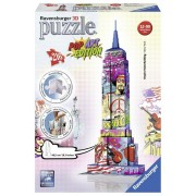 Ravensburger 125999 Puzzle 3D Empire State Building Pop Art 216