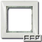 Рамка 3 поста Legrand Valena белый/кристалл