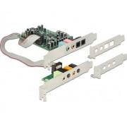 PCIe 7.1 24bit 192kHz TOSLINK ki/be