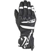 Ixon Rs Tempo Air Motocyklové rukavice XL Černá Bílá