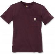 Carhartt Workwear Pocket Undertröjor för kvinnor Röd L