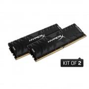 DDR4, KIT 32GB, 2x16GB, 3200MHz, KINGSTON HyperX Predator, CL16 (HX432C16PB3K2/32)