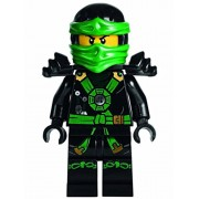 LEGO Ninjago Deepstone Minifigure - Lloyd Airjitzu with Armor and Swords 70751