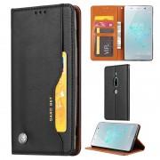Card Set Series Sony Xperia XZ2 Premium Wallet Case - Black