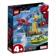 Конструктор Лего Супер Хироу - Spider-Man: Кражба на диаманти с Dock Ock, LEGO Marvel Super Heroes 76134
