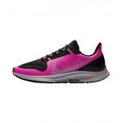 Nike Air Zoom Pegasus 36 Shield Zapatillas de correr para mujer, Fire Pink/Silver-black-atmosphere Grey, 11