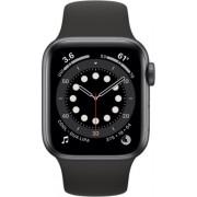 Apple Watch Series 6 44mm (GPS) Aluminium Case Space Grey Sport Band Negru