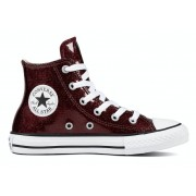 Converse All Stars Junior 661856C Glitter Bordeaux Rood-35 maat 35
