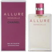 Chanel Allure Sensuelle Eau de Toilette para mulheres 100 ml