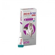 Bravecto Plus For Large Cats 500 Mg (13.75 To 27.5 Lbs) Purple 1 Doses