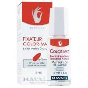 Mavala Top Coat Color - Matt 10 ml fissatore per smalto