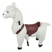 Mechanical Ride on Alpaca Simulated Horse Riding on Toy Ride-on Pony Cycle :More Comfortable Riding with Gallop Motion for Kids 3-6 Years