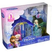 Mattel Disney Frozen Magiclip Flip N Switch Castle and Elsa Doll
