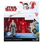 Star Wars, Set 2 figurine Rey si Elite Praetorian Guard