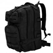 vidaXL fekete katonai hátizsák 50 L