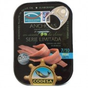 Filetes de anchoa Codesa 7/10 piezas serie limitada.