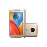 Smartphone Motorola Moto E4 PLUS XT1773 Quad-Core, Android 7.1, Tela 5,5´ ,16GB, 13MP, 4G, Desbloqueado - Dourado