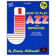 Jamey Aebersold Aebersold: How To Play Jazz And Improvise Vol.1, incl. CD