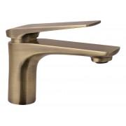 Sanitop-Wingenroth Einhandmischer Orva für Waschbecken Bronze