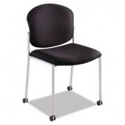 Diaz Guest Chair, Black Fabric