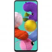 "Telefon mobil Samsung Galaxy A51 Dual Sim, Prism White, 6.5"", RAM 4GB, Stocare 128GB"