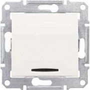 SEDNA Jelzőfényes keresztkapcsoló 10 A IP20 Krém SDN0501123 - Schneider Electric