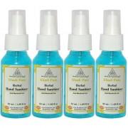 Khadi Pure Herbal Hand Sanitizer - 50ml (Set of 4)