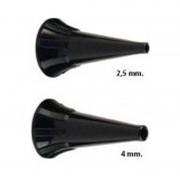 Espéculo auricular desechable Riester. Bolsa de 100 uds. Compatible: Ri-Scope L1/L2, Pen-Scope, Ri-Mini y e-scope