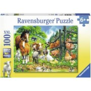 Puzzle Animale 100 Piese