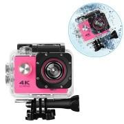 Sports SJ60 Waterbestendig 4K WiFi Action Camera - Hot Pink