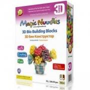 Игрален комплект Меджик нудълс - 220-270 броя - 3D Ваза цветя в кутия, 870019
