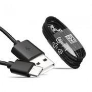 Samsung EP-DW700CBE fekete gyári Type-c adatkábel 1.5m