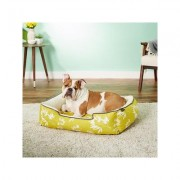 P.L.A.Y. Pet Lifestyle and You Bamboo Lounge Bed, Mustard, Medium