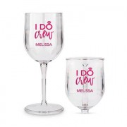 Confetti Portable Nesting Wine Glass - I Do Crew